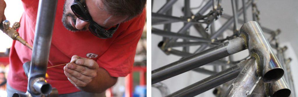 Escuela Técnica Bicicleta Diseño Construcción Cuadros Bicicletas Mecánica