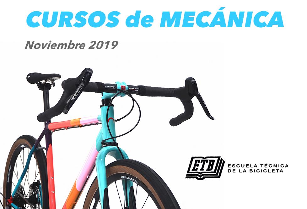 Cursos Mecánica Bicicleta Madrid
